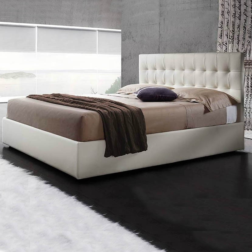 Letto in similpelle